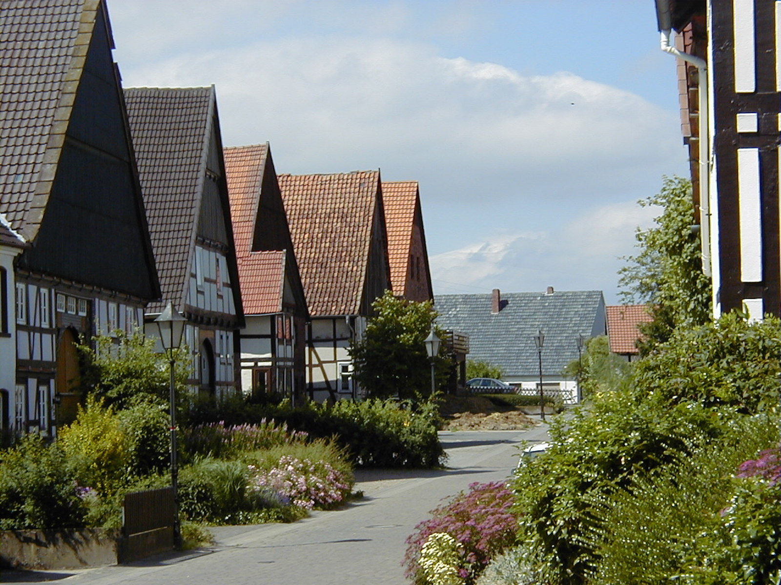 Niedernstraße in Vörden