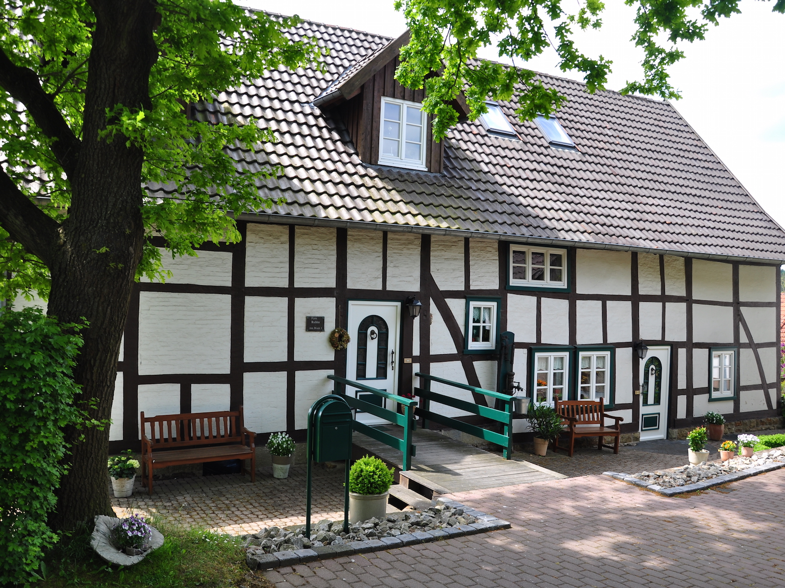 Fachwerkhaus in Kollerbeck