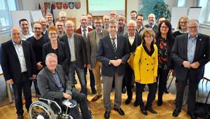 Landrat und Bürgermeister sind sich einig: